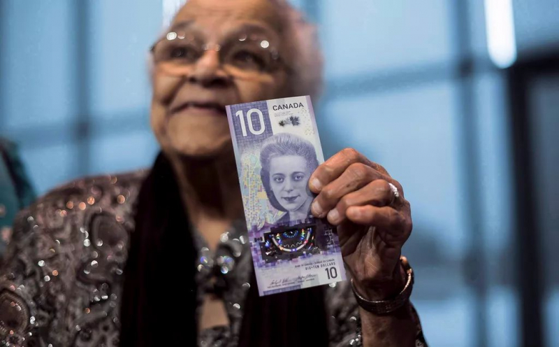 A work in honor of Viola Desmond is presented in New Glasgow