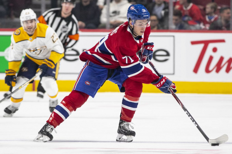 Jake Evans accepts two-season contract extension from Canadiens