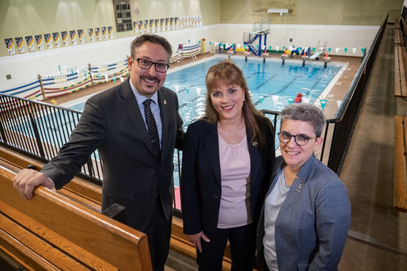 Green light for the renovation of the CAP swimming pool