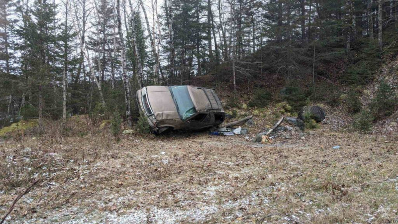 A serious accident on the trails of Saint-Jean-Vianney